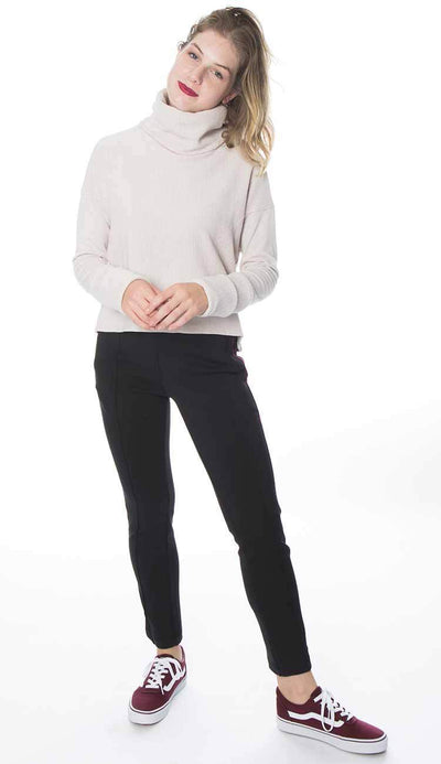 Ana Cigarette pant by garbe luxe front view