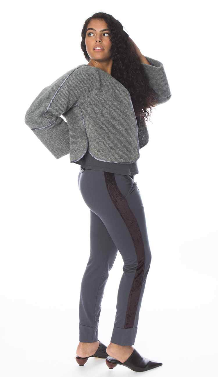 Eva sweatpant in grey by garbe luxe