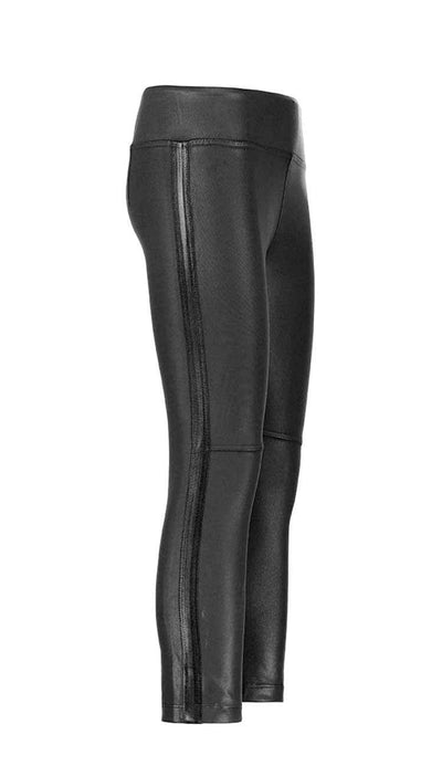 coated gemma skimmer mid-rise vegan leather by David Lerner side view #2
