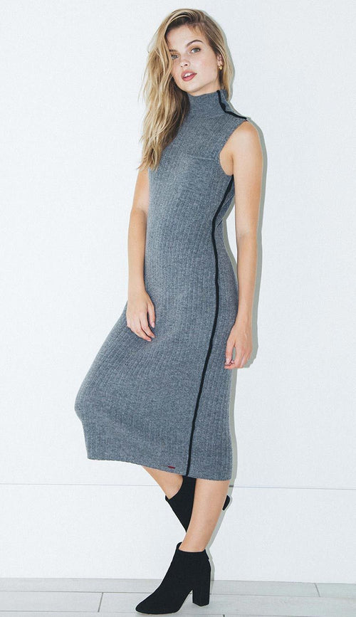philanthropy henry dress in grey heather