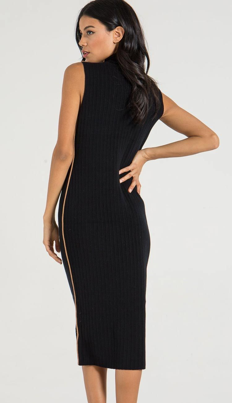 henry dress shown in black
