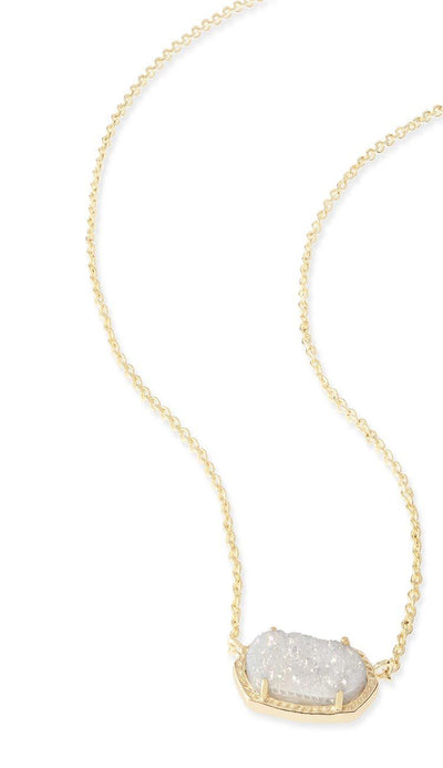 Iridescent Drusy Elisa Necklace BY KENDRA SCOTT