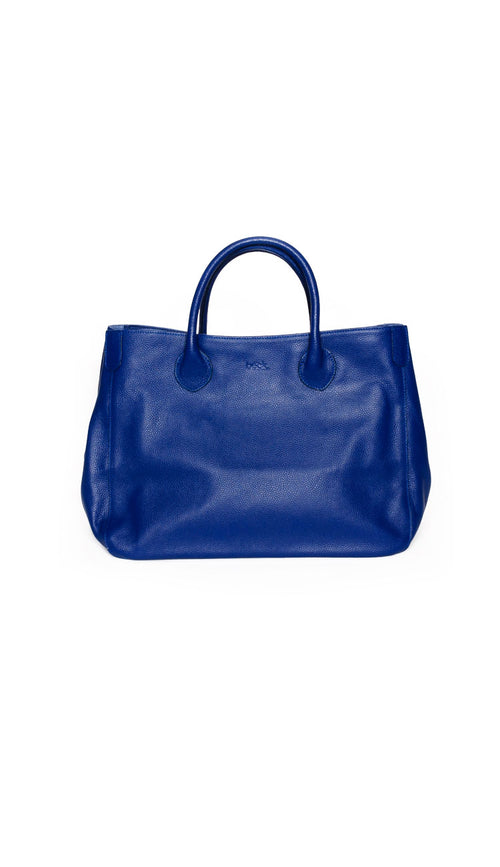 Beck Medium Classic Tote - Leevi Purple Blue