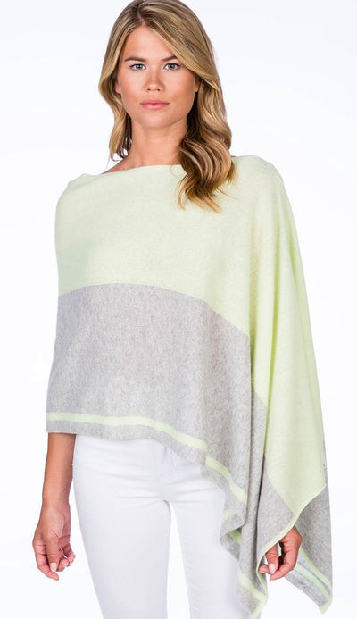 Ash Limonata Cashmere Poncho Dress Topper