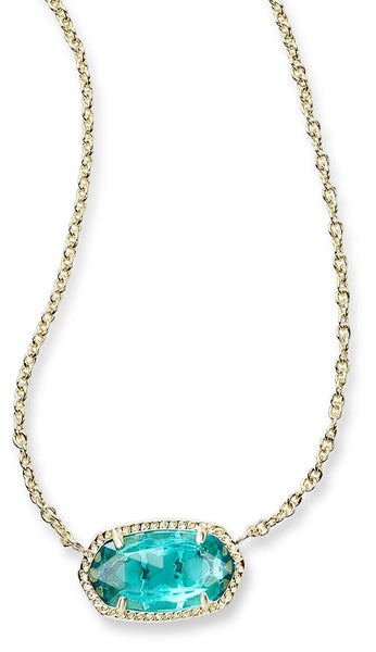 London Blue Elisa necklace by Kendra Scott