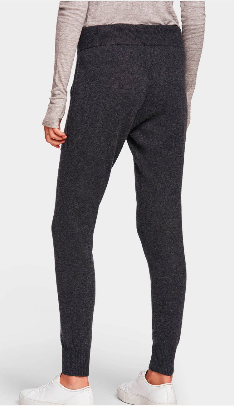 charcoal lounge pant white and warren