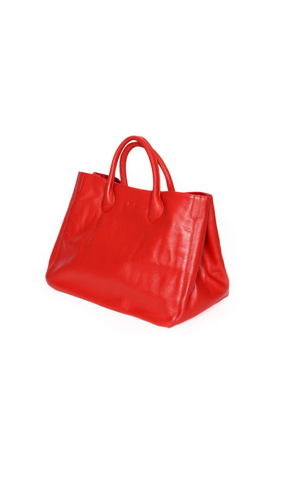 Beck Medium Classic Tote - Madison Red