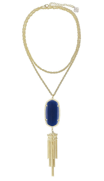 Navy Rayne Necklace by Kendra Scott