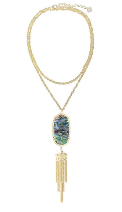 Abalone Rayne Necklace by Kendra Scott