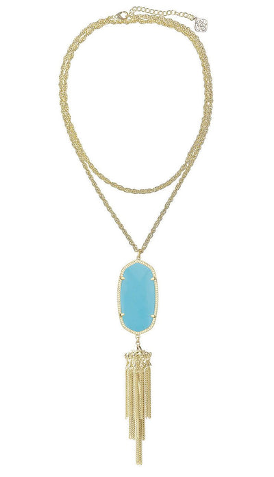 Turquoise Rayne Necklace by Kendra Scott