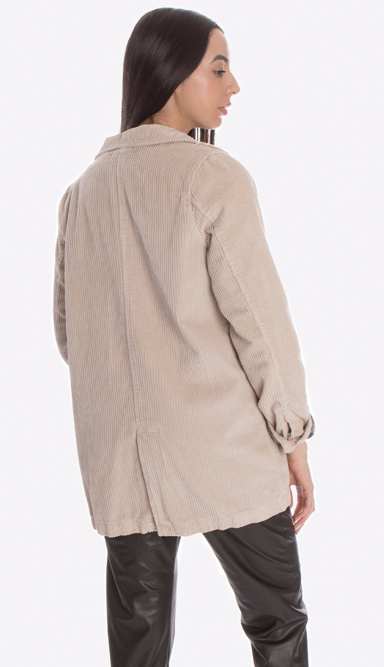 Regan Wide Wale Corduroy Jacket by CP Shades  back view