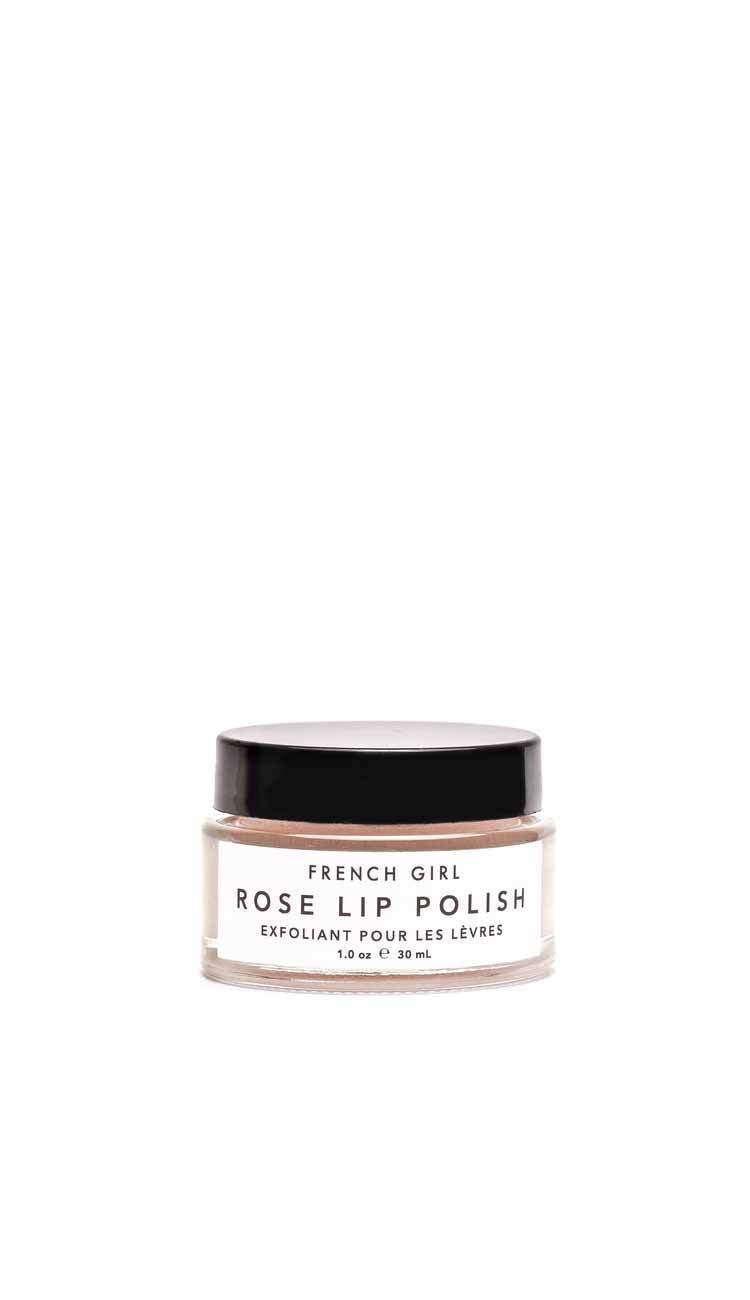 rose lip scrub by french girl