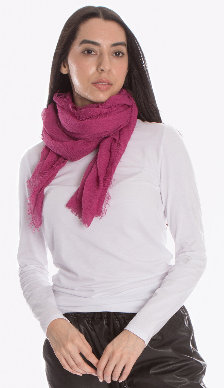 ruby zaar boho shawl scarf purple berry
