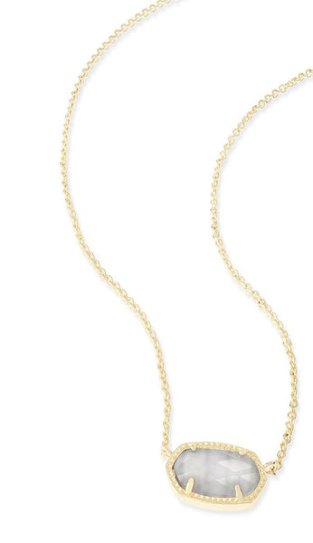 Slate Elisa Necklace by Kendra Scott