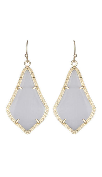 Kendra Scott ALEX EARRINGS IN SLATE