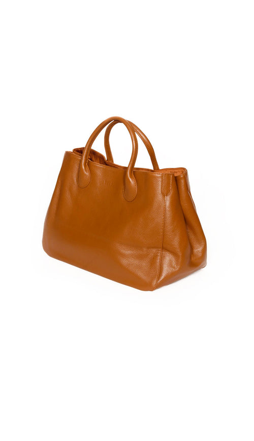 Beck Medium Classic Tote - Teddy Bear Brown