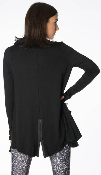 Black Drape Jacket