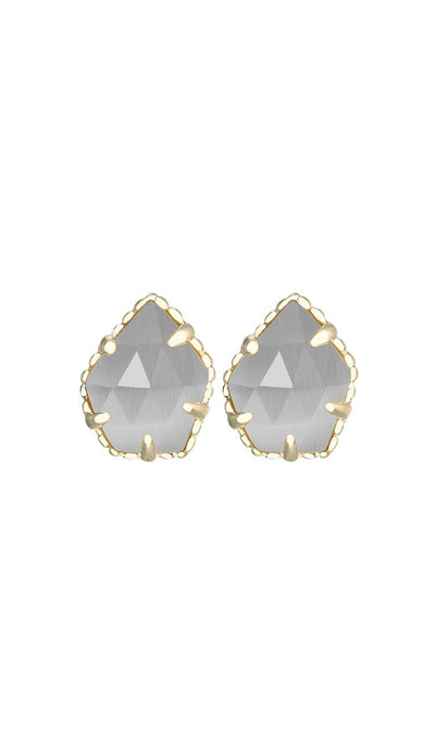Tessa Stud Earrings in slate by kendra scott
