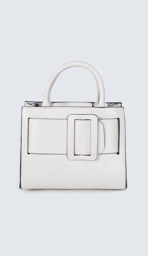 Inzi BOBBI BAG IN WHITE