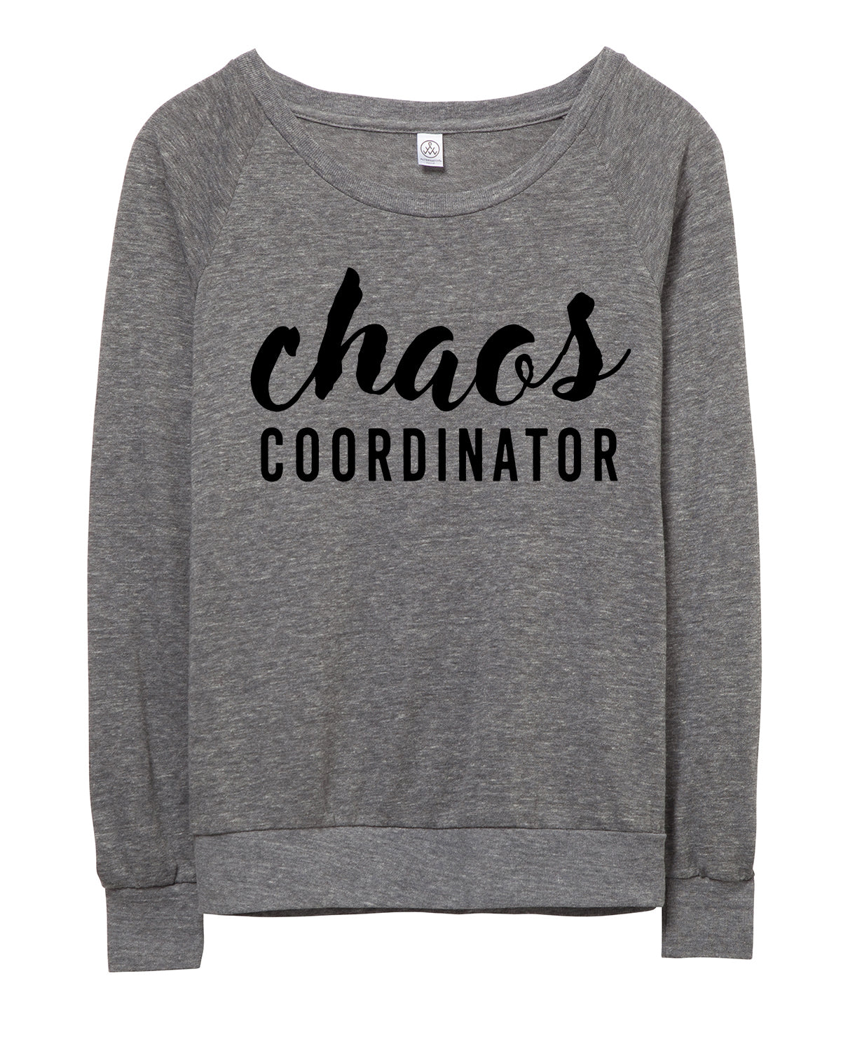 Chaos Coordinator Slouchy Pullover.