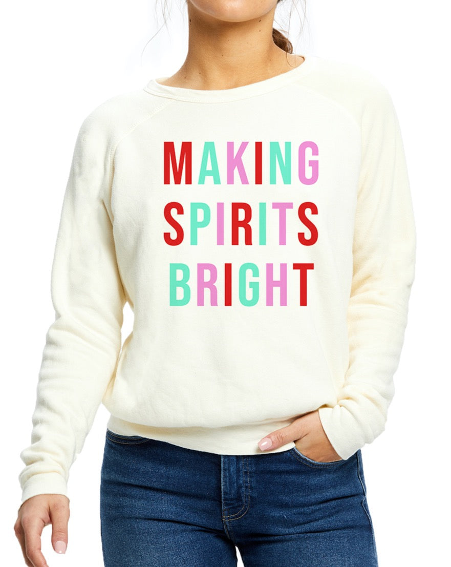 Making Spirits Bright Pullover