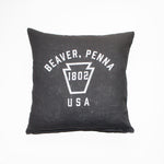 Beaver Keystone Throw Pillow