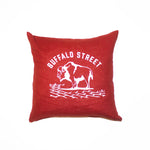 Buffalo Street Throw Pillow
