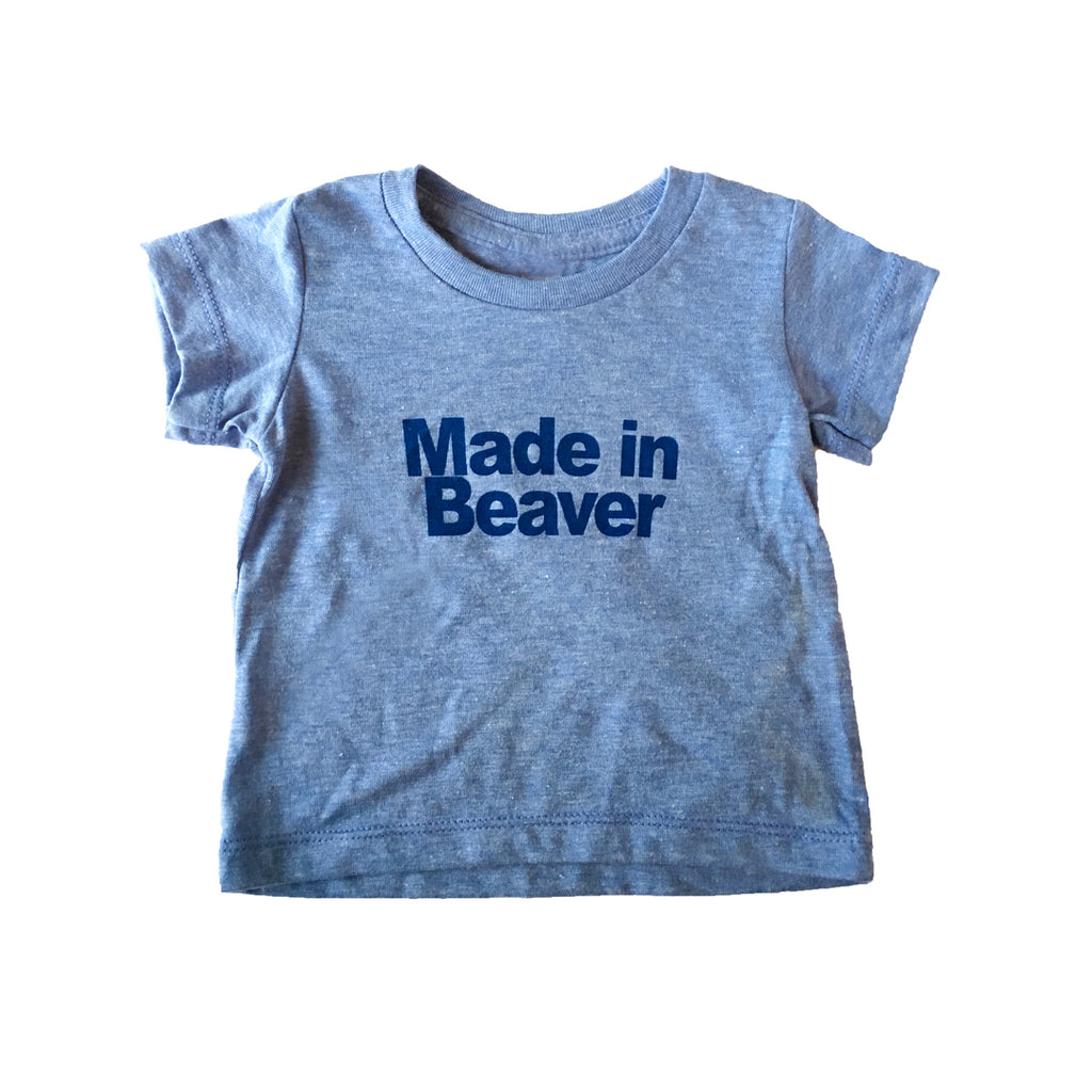 Toddler Made In Beaver Tee