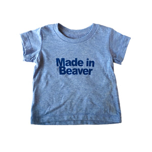 Youth Made In Beaver Tee