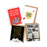 "Beavtown ""Send Some Love"" 4 pack"