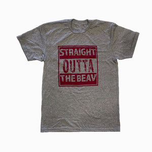 Straight Outta The Beav Adult Tee