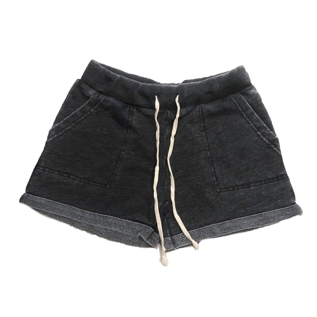Ladies Lounge Short (Worn Black)