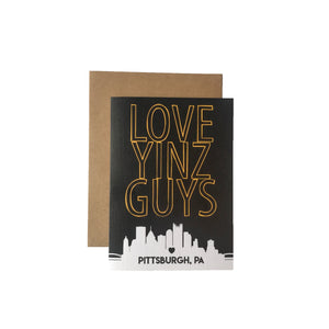 Love Yinz Guys Card