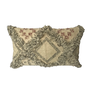 Fringed Kilim Pillow