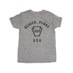 Youth Beaver, Penna Keystone Tee