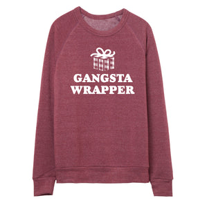 Gangsta Wrapper Pullover.