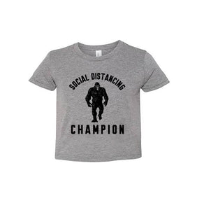 Toddler Social Distancing Champion Tee.