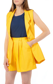 Short Suit in Marigold