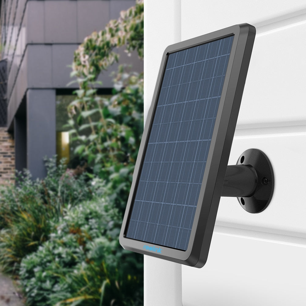 Solar Panel for Reolink Argus 2 Rechargeable Battery Powered for IP  Security Camera