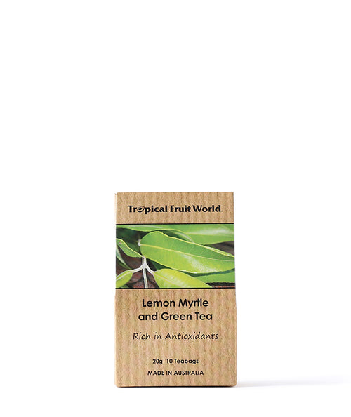 Lemon Myrtle & Green Tea Bags