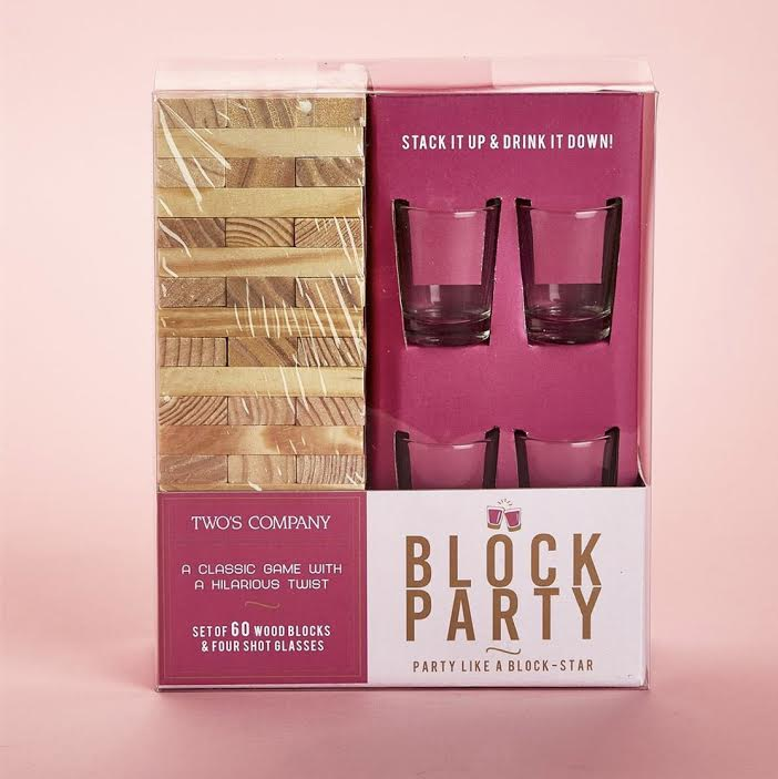 BLOCK PARTY STUMBLING BLOCKS GAME IN GIFT BOX