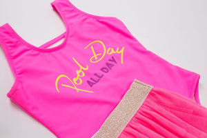 Pool Day All Day Set - One Piece /w Skirt