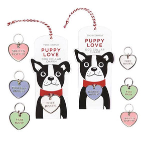 Puppy Love Dog Collar Charm