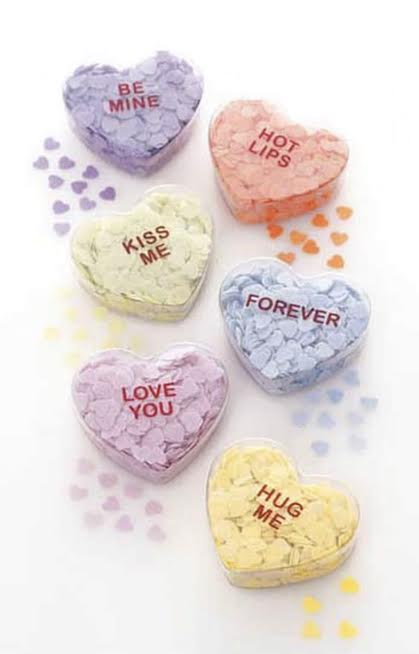 Sweetnote Heart Shaped Bath Confetti