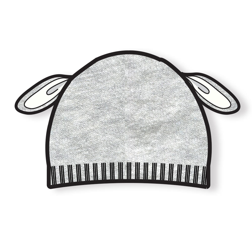 SHEEP EAR HAT GREY