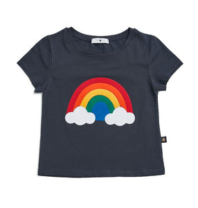 Rainbow T-shirt - Navy