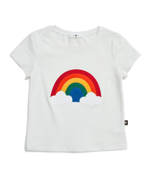 Rainbow T-shirt - White