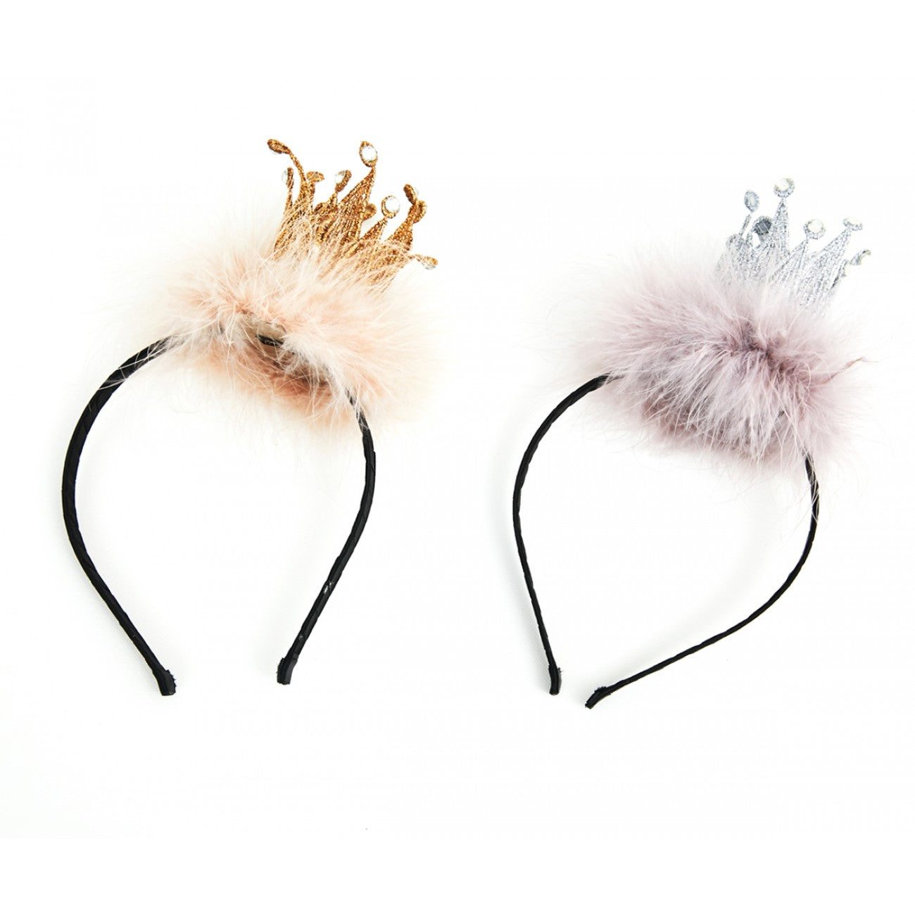 Fur Crown Headband