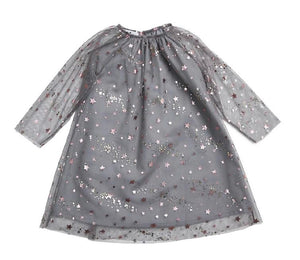 Rora star Dress - Gray