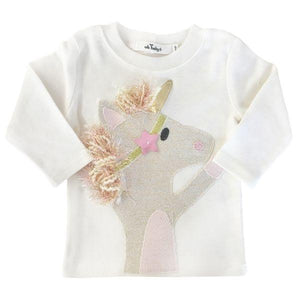 Gold Star Unicorn Sweatshirt